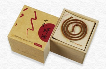 十分琦楠1.5H盤香補充木盒