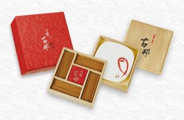 白檀古邦57臥香三層盒