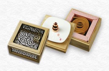 花之賞2H盤香花窗三層盒